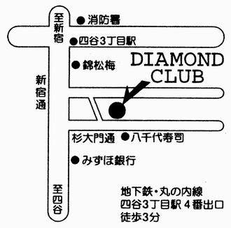 ダイアモンドクラブ地図